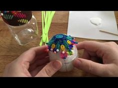 Paper quilled 3D egg - YouTube