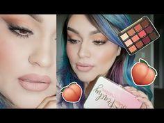 Just Peachy Matte Palette Peachy Eyeshadow, Too Faced Eyeshadow, Eyeshadow Looks, Eyeshadow Palette, Peach Pallette Too Faced, Peach Palette Looks, Too Faced Just Peachy, Too Faced Peach, World Hair