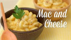 """Mac and """"Cheese"""" Vegano"""