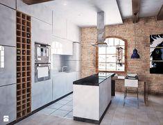 Kuchnia styl Industrialny Kuchnia - zdjęcie od 4Uprojekt- Projekty wnętrz