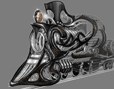 """Check out new work on my @Behance portfolio: """"Locomotive"""" http://on.be.net/1QuvYMd"""