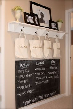 Such a good idea - be nice to have it tucked up in a corner somewhere just before you leave and near the entrance.