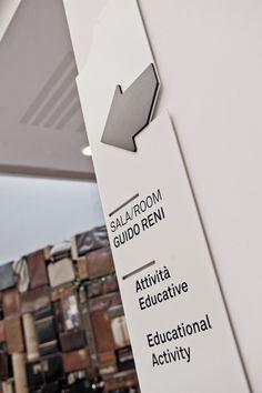 elegant directional signage