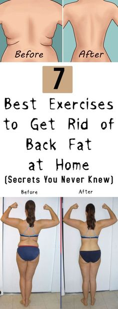 7 Best Exercises to Get Rid of Back Fat at Home -Secrets You Never Knew #fitness #beauty #hair #workout #health #diy #skin