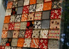 Fall quilt colors