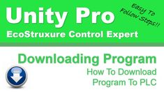 How To Download Program To PLC Software Development, Programming, Unity, Technology, Learning, Tech, Studying, Tecnologia, Teaching