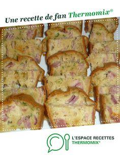 cake salé jambon mozzarella par lolo.14.konto. Une recette de fan à retrouver dans la catégorie Entrées sur www.espace-recettes.fr, de Thermomix<sup>®</sup>.