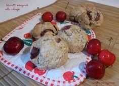 Biscotti integrali alle ciliegie