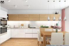 inspirace-Kuchyň - Kolekce uživatelky baruss03 | Modrastrecha.cz Diy Kitchen Storage, Home Decor Kitchen, Kitchen Interior, Modern Kitchen Design, Table, Kitchen Cabinets, Condo, Inspiration, Decorating