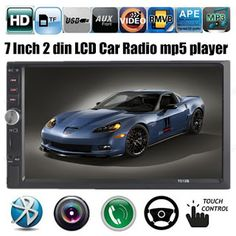 NEW 7 inch LCD Touch screen car radio mp5 player BLUETOOTH mp4 mp3 audio 1080P movie Support rear view camera 2 din car audio (32474434109)  SEE MORE  #SuperDeals