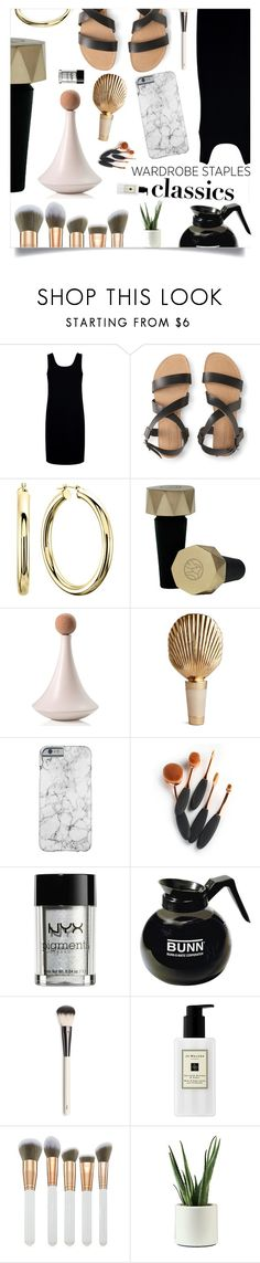 """""""Tried and True: Wardrobe Staples"""" by violet-peach ❤ liked on Polyvore featuring Être Cécile, Aéropostale, Frontgate, AERIN, NYX, Bunn, Chantecaille, Jo Malone, Spectrum and WardrobeStaples"""