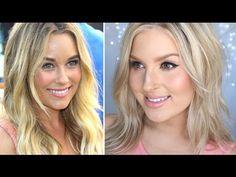 Lauren Conrad Inspired Hair & Makeup! ♡ Soft Tousled Waves