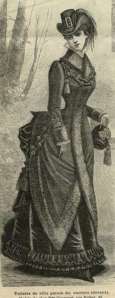 Dress. France. 1883