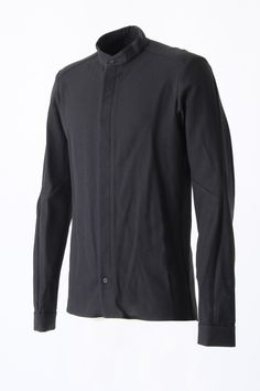 Shirt Stand Collar Cotton - Devoa