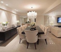 """4,584 curtidas, 42 comentários - Home Luxo   Decor & Interiores (@homeluxo) no Instagram: """"Sala de jantar by Design de Interiores Valdete Duarte ❤️ @_decor4home @homeluxoimoveis…"""""""
