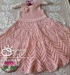 Captivating Crochet a Bodycon Dress Top Ideas. Dazzling Crochet a Bodycon Dress Top Ideas. Crochet Toddler, Crochet Girls, Crochet For Kids, Crochet Skirt Pattern, Crochet Shirt, All Free Crochet, Hand Crochet, Baby Dress Patterns, Crochet Baby Dresses