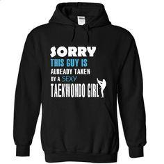 Taken by a Taekwondo Girl - #sweatshirt fashion #sweater diy. SIMILAR ITEMS => https://www.sunfrog.com/LifeStyle/Taken-by-a-Taekwondo-Girl-8204-Black-17528761-Hoodie.html?68278