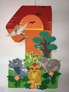 number the Lion guard pinata,Simba and Nala pinata, Simba and Nala birthday party. The Lion King birthday party, Lion king party supplies Lion Guard Birthday Cake, Lion King Birthday, 1st Birthday Themes, Baby Boy 1st Birthday, Mickey Birthday, 1st Birthday Girls, 1st Birthday Parties, Lion King Theme, Lion King 1
