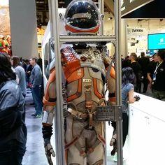 The Martian suit...but no Matt Damon in sight.  @gopro #CES2016
