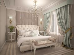 Every detail matters when we are decorating our master bedroom, right? Gold Bedroom Decor, Luxury Bedroom Furniture, Luxury Bedroom Design, Guest Room Decor, Master Bedroom Design, Home Bedroom, Home Interior Design, Living Room Decor, Furniture Nyc