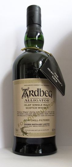 Currently at the Catawiki auctions: Ardbeg Alligator Committee, Exclusive Committee Reserve For Discussion