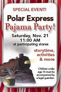 Fun idea to send invitation to cousins & friends for a Polar Express Pajama Party!!
