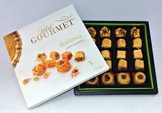 Gourmet Baklava Dessert ★ Petit Gourmet Arabian Sweets ★ Ivory Gift Box Oriental Assortment ★