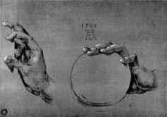 Feet of an apostle - Albrecht Durer - WikiPaintings.org