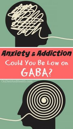 Do you struggle with anxiety or addictions? GABA is our main inhibitory neurotransmitter, and a key regulator of both anxiety and addiction. It helps us stay in that calm, healing, para-sympathetic mode, and avoid the sympathetic flight or fight mode. It governs dozens of functions in the mind and body. Read more to find out if your anxiety and addiction problems are due to low GABA! // @ondietandhealth