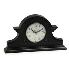 Imax Black Mantel Clock IMAX…