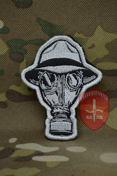 psycho realm gas mask    #нашивка #патч   #вышивка #EmbroideryPatch #Нашивки #Шевроны #Patch