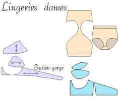Lingerie patterns