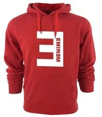 Wish | Eminem Letter Print Men's Pullover Hoodies Navy with 4 Colors