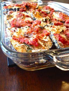 Vegetarian Recipe   Light Eggplant Parmesan & Basic Low-Sodium Tomato Sauce