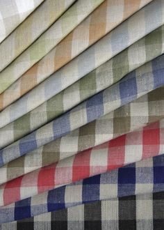 Sonoma Check (#1162) by Classic Cloth | Linen: 100% | Dessin Fournir Companies