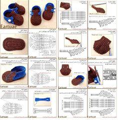 crochet tuto slippers (1)