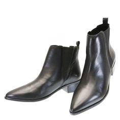 Bota Cano Curto Preta GL1 Sapri by Moselle | Moselle sapatos finos femininos! Moselle sua boutique online.