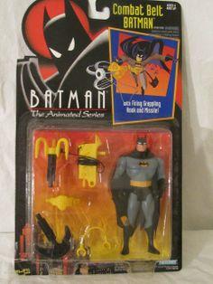 Batman - Combat Belt action figure toy (Batman Animated) (Kenner, 92) - unopened
