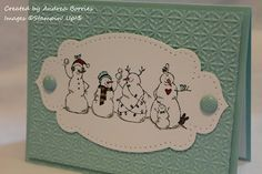 Frosty Friends fits perfectly on this framelit from Apothecary Accents. Check out Andrea's tip for the inside.