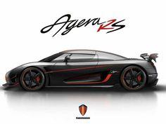 Koenigsegg Agera RS.