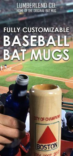 At Lumberlend Co We Had The Idea Of Turning A Baseball Bat Into Mug