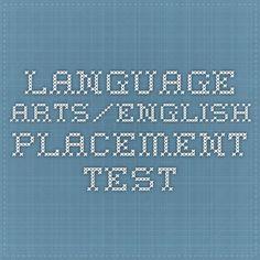 Language Arts/English Placement Test