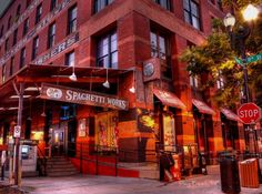 The Old Spaghetti Works, Omaha (Old Market), NE