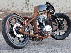 British cafe racer maybe BSA Bobber Bikes, Bobber Motorcycle, Bobber Chopper, Bobber Custom, Custom Choppers, Custom Bikes, Concept Motorcycles, Cool Motorcycles, Vintage Motorcycles