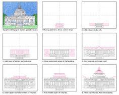 Draw the Capitol building tutorial