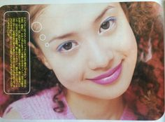 '96 CUTIE 吉川ひなの 90s Makeup, Hair Makeup, Pop Heroes, 2000s, Magazine, Face, Painting, Clothes, Outfits