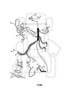 kohler engine electrical diagram kohler engine parts diagram Ford Truck Wiring Diagrams craftsman 20 5hp 42 mower lawn tractor parts model 917270951 sears partsdirect yard