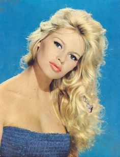 Brigitte Bardot. Gorgeous without seeming like shes trying too hard.