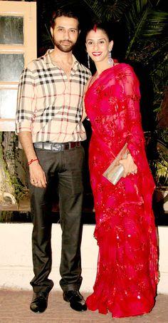 Apoorva and Shilpa Agnihotri at Ekta Kapoor's Diwali bash. Best Bollywood Movies, Bollywood Couples, Bollywood Stars, Bollywood Celebrities, Diwali Fashion, Bollywood Fashion, Indian Fashion, Celebrity Couples, Celebrity Weddings