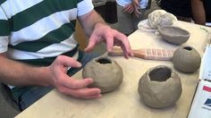 Pinch Pots: Open Forms and Combined Forms